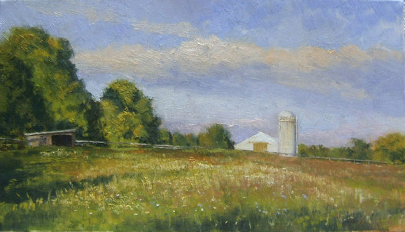 "Paul Bachem ""Country Landscape, Up                 Country NY"