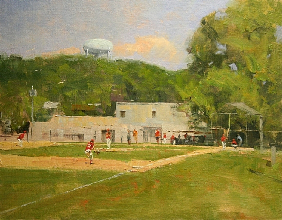 """Sunday Morning, Field 5"" by Paul                   Bachem"