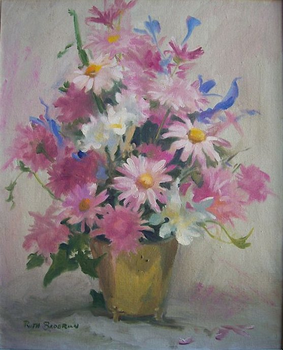 Ruth                 Baderian floral painting