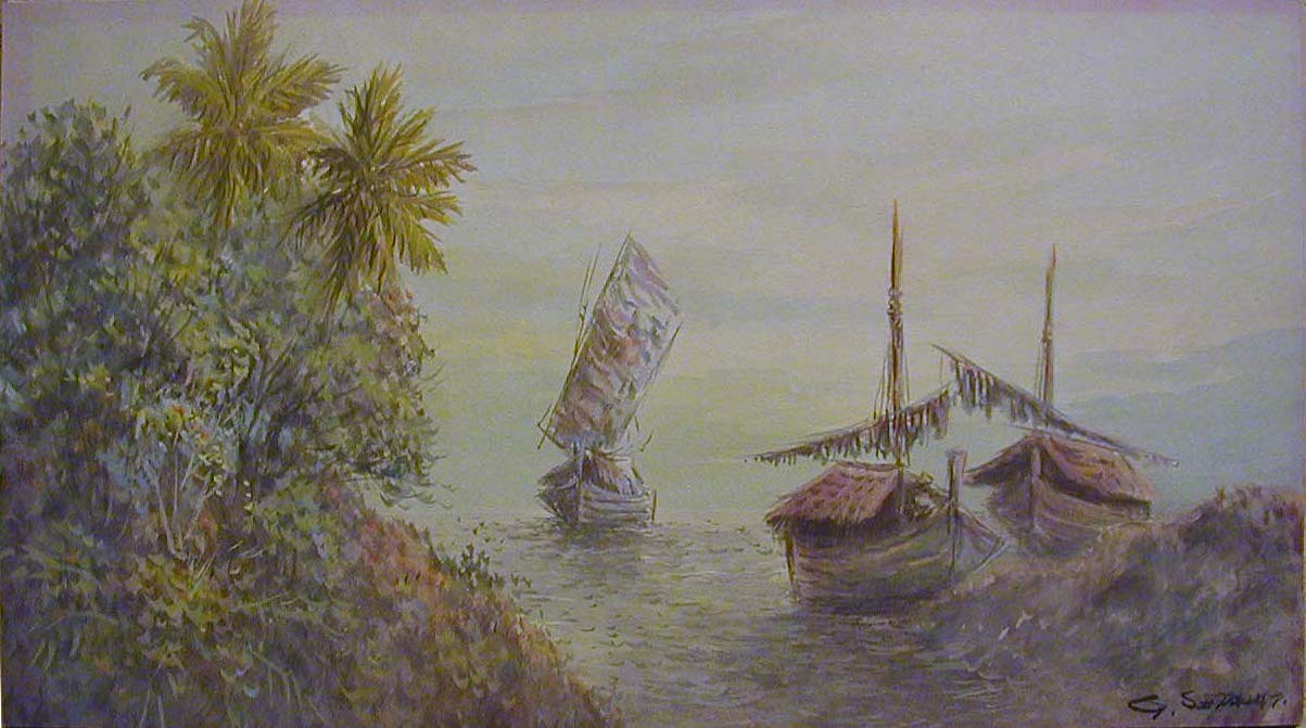 Indonesian painting