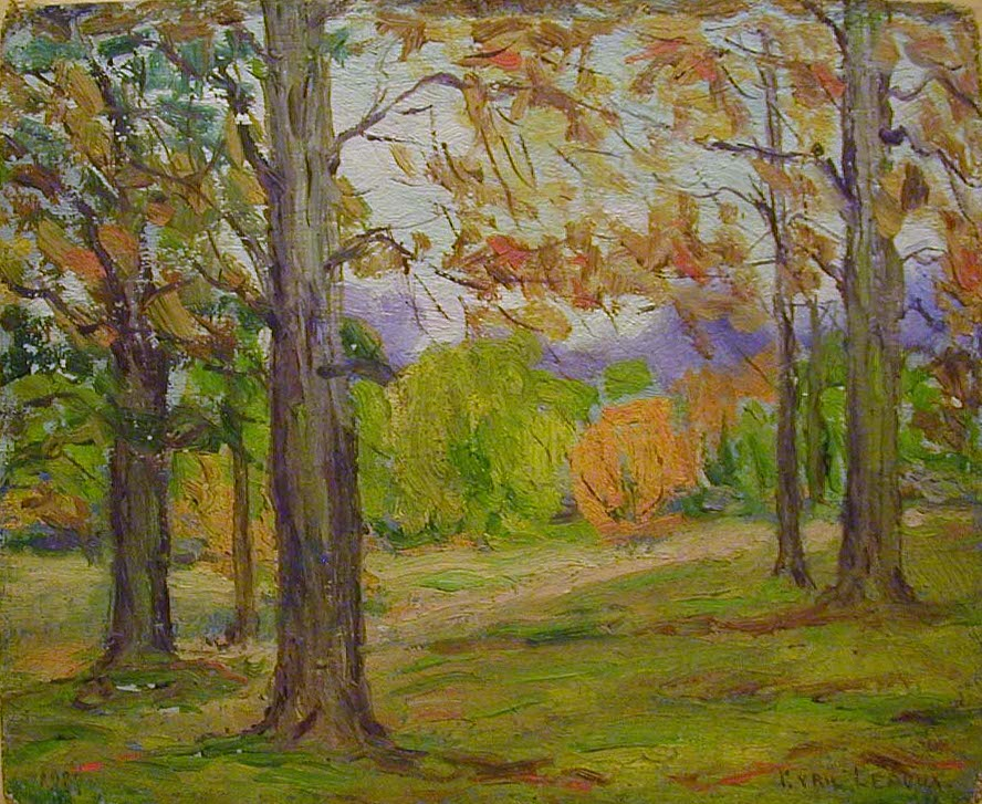 "Cyril Ledoux                       ""Autumn afternoon"""