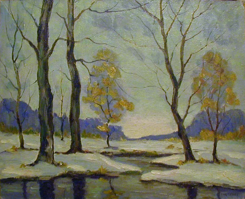 Cyril Ledoux Winter Trees