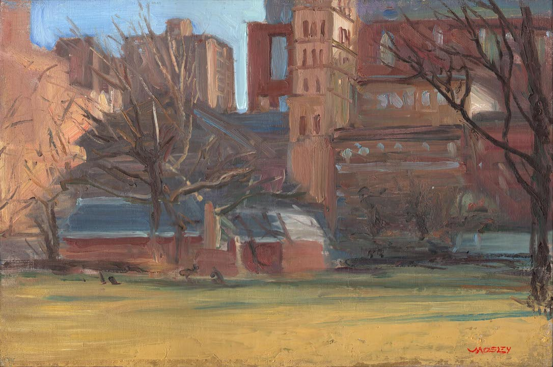 "Walter Lynn Mosley                       ""Washington Square Park, New York"""
