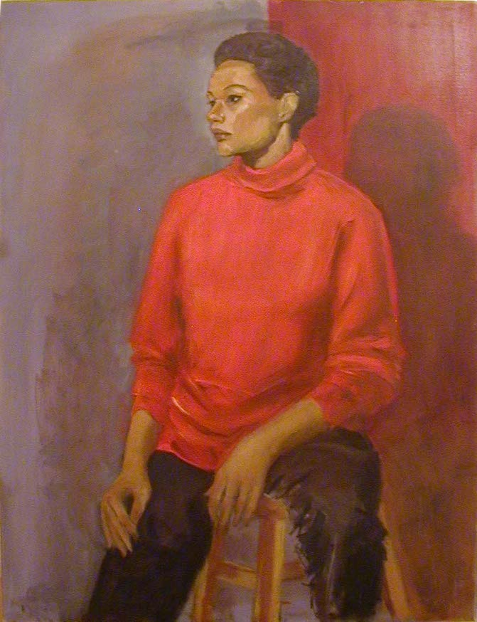 "Elizabeth Widmayer                       ""seated woman"""